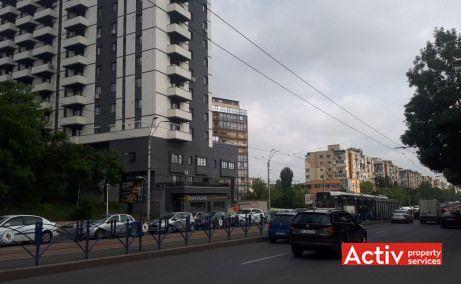 Tineretului City inchiriere spatiu de birouri Bucuresti zona de sud vedere bulevard