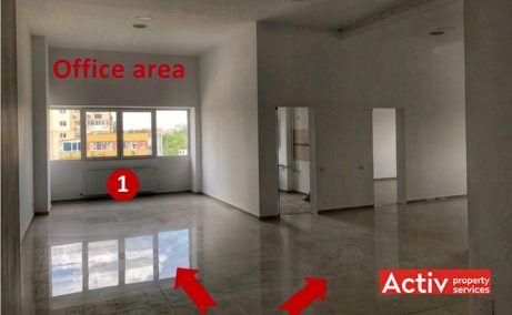 Tineretului City inchiriere spatiu de birouri Bucuresti zona de sud poza interior open space