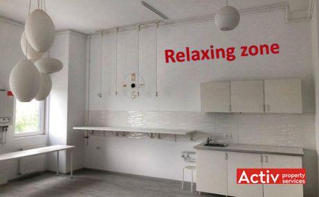 Tineretului City birouri de inchiriat Bucuresti zona de sud poza interior relaxing zone