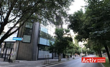 Nicolae Titulescu 56 spatii de birouri de inchiriat Bucuresti central vedere cale de acces