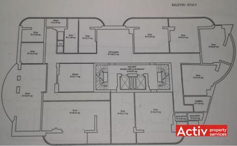Branduselor 2-4 birouri de inchiriat Bucuresti central zona Vitan plan