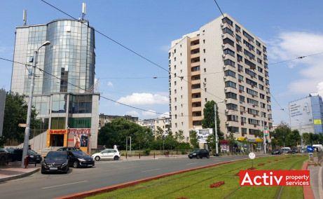 Branduselor 2-4 spatii de birouri de inchiriat Bucuresti zona centrala poza cale de acces