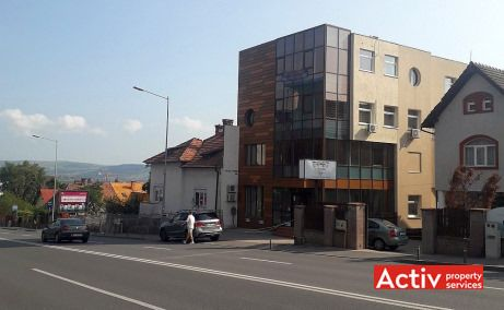 Calea Turzii 83 birouri de inchiriat Cluj-Napoca sud vedere cale de acces