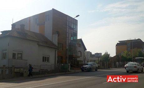 Calea Turzii 83 spatii de birouri de inchiriat Cluj-Napoca sud vedere cale de acces