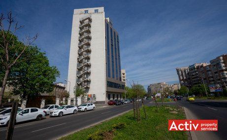 TATI Center 2 spatii de birouri de inchiriat Bucuresti zona centrala vedere cale de acces catre cladire