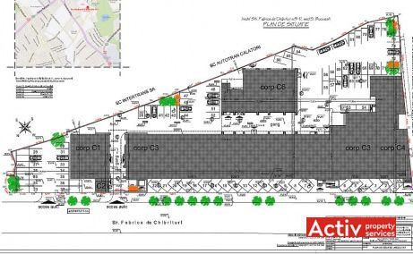 TATI Center 3 birouri de inchiriat Bucuresti zona centrala plan