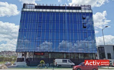 Optimus Nova Center birouri de inchiriat Cluj-Napoca zona de vest imagine fatada cladire