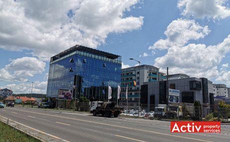 Optimus Nova Center birouri de inchiriat Cluj-Napoca zona de vest poza cale de acces