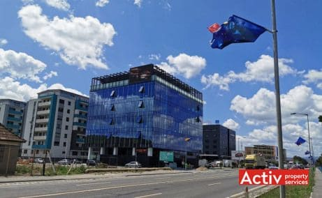 Optimus Nova Center birouri de inchiriat Cluj-Napoca zona de vest imagine cale de acces