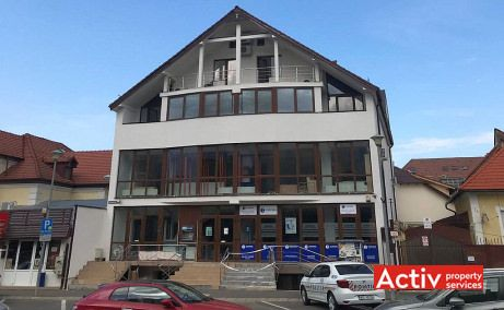 Revolutiei 1 birouri de inchiriat Sibiu ultracentral poza fatada cladire
