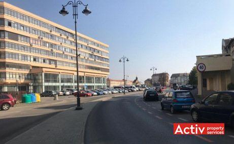 Ferdinand 4 birouri de inchiriat Sibiu zona centrala poza cale de acces