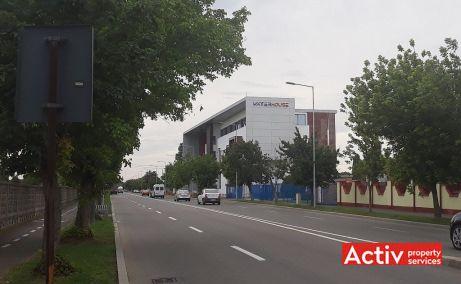 Waterhouse Business Center inchiriere spatii de birouri Arad zona de vest poza cale de acces