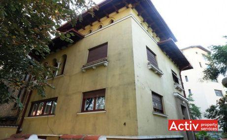 Primaverii 4 vila cu birouri de inchiriat Bucuresti zona de nord cartier Primaverii poza cladire