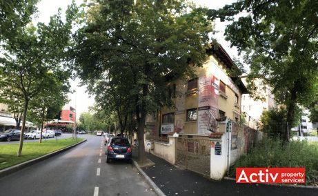 Primaverii 4 vila cu birouri de inchiriat Bucuresti nord zona Primaverii poza cale de acces