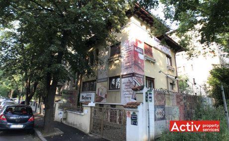 Primaverii 4 birouri de inchiriat Bucuresti nord cartier Primaverii poza cladire din lateral