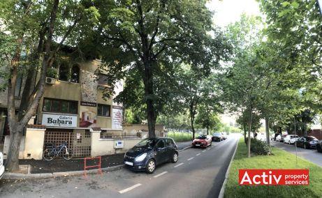 Primaverii 4 vila istorica cu birouri de inchiriat Bucuresti nord Pta Charles de Gaulle imagine cale de acces