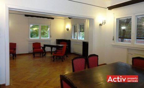 Primaverii 4 birouri de inchiriat in villa istorica Bucuresti zona Primaverii metrou Aviatorilor imagine interior
