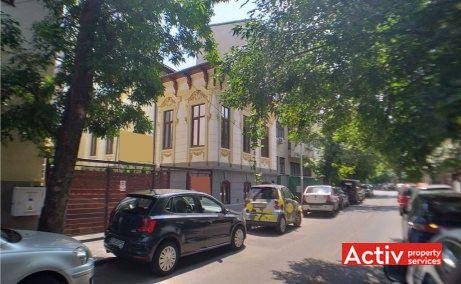 Aurel Vlaicu 88-90 vila de vanzare Bucuresti zona centrala imagine cale de acces