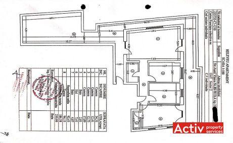 Aurel Vlaicu 88-90 - apartament de vanzare Bucuresti central plan