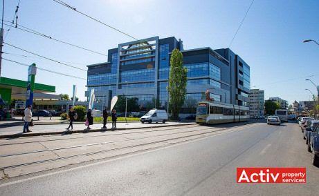 City Offices - oportunitate de inchiriere spatii birouri de inchiriat Bucuresti sud metrou Eroii Revolutiei poza cale de acces