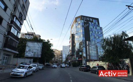 Ilion Offices spatii de birouri de inchiriat Bucuresti zona centrala Obor imagine cale de acces