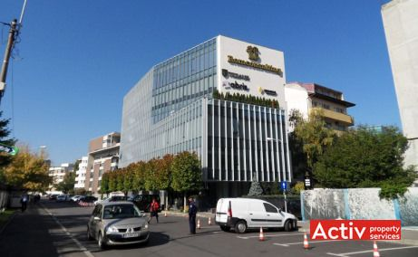 Herastrau Office Building birouri de inchiriat Bucuresti nord imagine cale de acces
