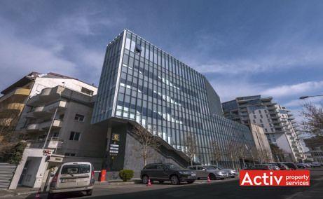 Herastrau Office Building inchiriere spatii de birouri Bucuresti zona de nord Nicolae Caramfil imagine cladire