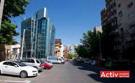 Foisorului Office Building birouri de inchiriat Bucuresti zona centrala imagine cale de acces