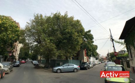 Ion Calin 13 inchiriere spatii birouri Bucuresti zona centrala poza de ansamblu intersectie