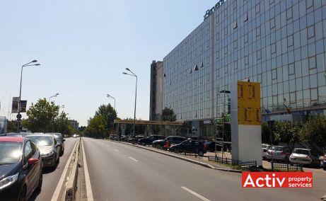 IPA spatii de birouri de inchiriat in Bucuresti zona de nord Mall Promenada imagine cale de acces