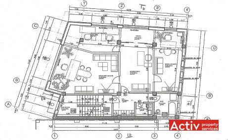 Sirenelor 24 inchiriere spatii de birouri Bucuresti zona centrala plan