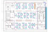 Băneasa Business & Technology Park închiriere spații de birouri zona nord imagine plan etaj 4