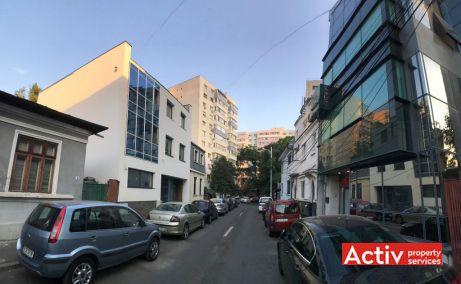 Scarlatescu 8 cladire de inchiriat / de vanzare in Bucuresti central imagine cale de acces