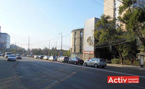 Cladire Panoramic spatii de birouri Timisoara central poza acces bulevard