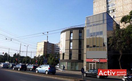 Cladire Panoramic spatii de birouri de inchiriat Timisoara central poza cale de acces