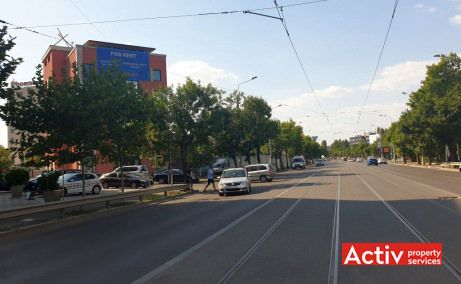 Aviatiei Office Buiding birouri de inchiriat Bucuresti nord zona Aviatiei imagine cale de acces