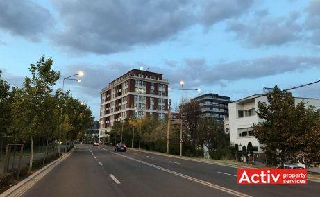 Ethos House birouri de inchiriat Gheorghe Titeica Bucuresti zona de nord la 500 metri de Promenada Mall poza cale de acces