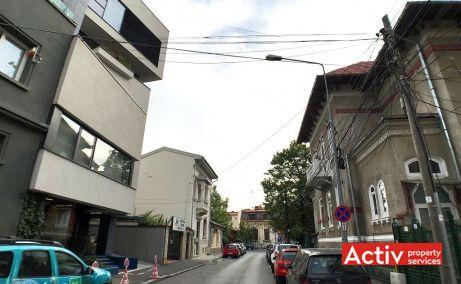Ernest Brosteanu 31 inchiriere spatii de birouri Bucuresti zona centrala poza cale de acces