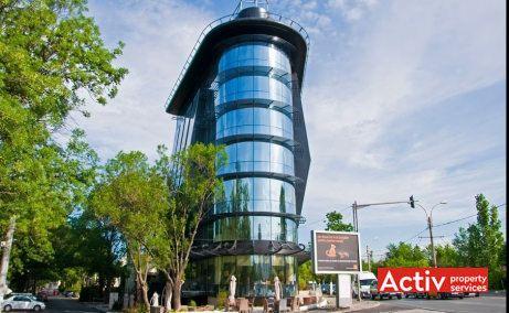 BARBU VĂCĂRESCU OFFICES spații birouri Barbu Văcărescu perspectivă încadrare în zonă