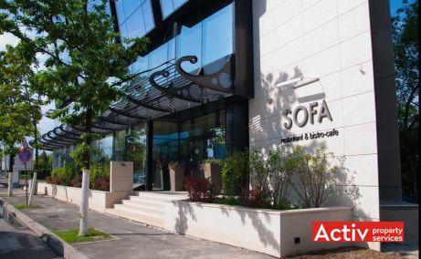 BARBU VĂCĂRESCU OFFICES birou de închiriat metrou Aurel Vlaicu fotografie fațadă