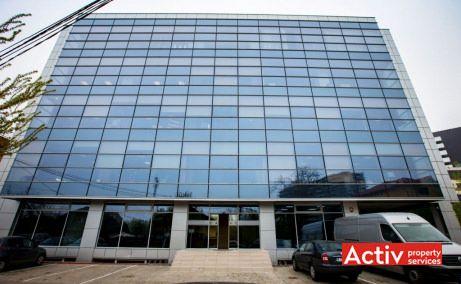 Ocna Sibiului 46-48 cladire de birouri de inchiriat Bucuresti nord zona Aerogarii poza fatada cladire