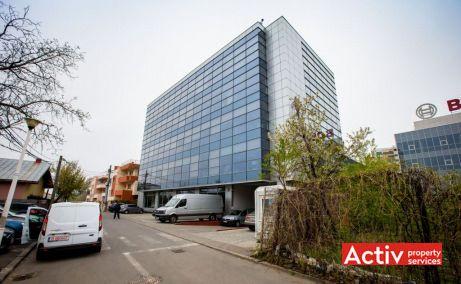 Ocna Sibiului 46-48 birouri de inchiriat Bucuresti nord zona Aerogarii imagine cale de acces