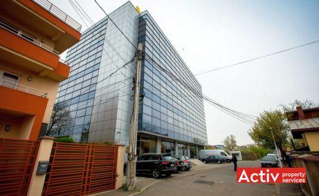Ocna Sibiului 46-48 spatii de birouri de inchiriat Bucuresti nord zona Aerogarii imagine cale de acces