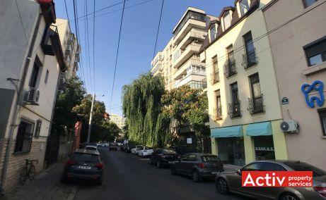 Alexandru Campeanu 62A cladire de birouri de vanzare limita centrului Bucurestiului poza cale de acces