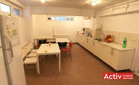 Vespasian 9 spatii de birouri Bucuresti central poza bucatarie cladire