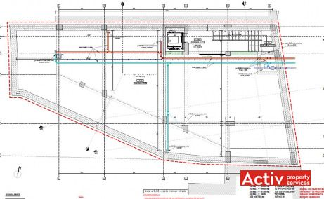 Dorobanti 149 inchiriere spatii de birouri Bucuresti central imagine plan etaj