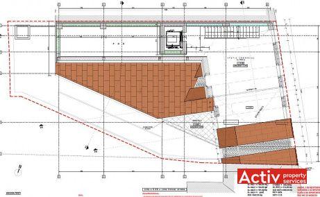 Dorobanti 149 spatii de birouri Bucuresti central imagine plan etaj