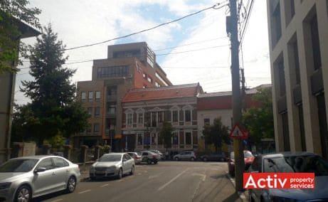 Silver Business Center spatii de birouri Cluj central imagine cale de acces