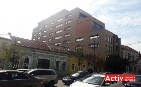 Silver Business Center spatii de birouri de inchiriat Cluj central imagine laterala