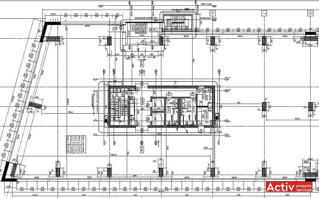 modern office floor plans. Biharia Office Building închiriere Spații De Birouri Nordul Bucureștiului, Plan Etaj Modern Floor Plans U
